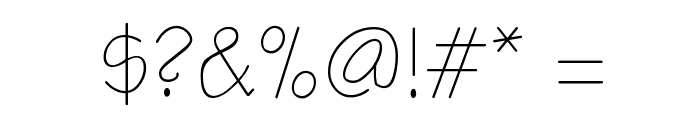 Notetaker Font OTHER CHARS