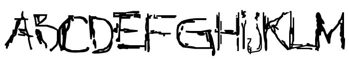 NothingNet Font UPPERCASE