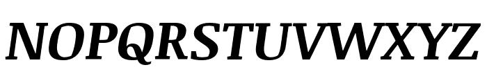 Noticia Text Bold Italic Font UPPERCASE