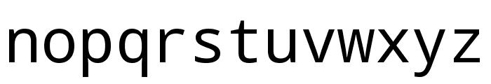 Noto Mono Font LOWERCASE