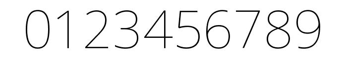 Noto Sans Arabic UI Thin Font OTHER CHARS