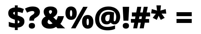 Noto Sans Black Font OTHER CHARS