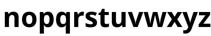Noto Sans Bold Font LOWERCASE