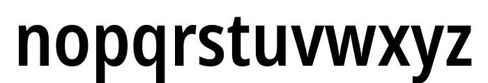 Noto Sans Condensed SemiBold Font LOWERCASE