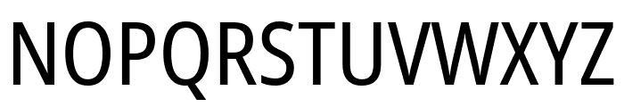 Noto Sans Condensed Font UPPERCASE
