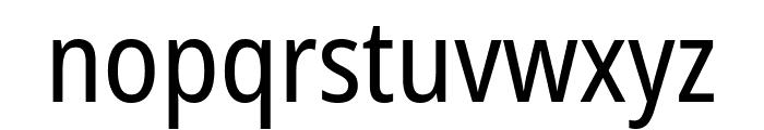 Noto Sans Condensed Font LOWERCASE