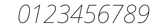Noto Sans Display Thin Italic Font OTHER CHARS
