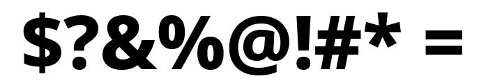 Noto Sans ExtraBold Font OTHER CHARS