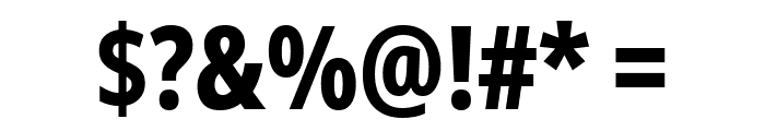Noto Sans ExtraCondensed ExtraBold Font OTHER CHARS