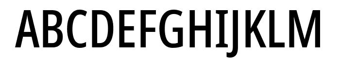 Noto Sans ExtraCondensed Medium Font UPPERCASE