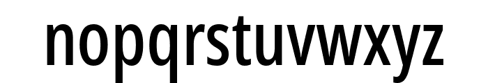 Noto Sans ExtraCondensed Medium Font LOWERCASE