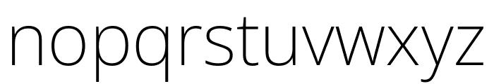 Noto Sans ExtraLight Font LOWERCASE