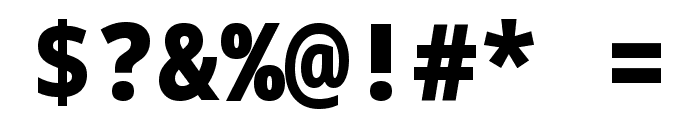 Noto Sans Mono Black Font OTHER CHARS