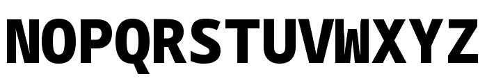 Noto Sans Mono Black Font UPPERCASE