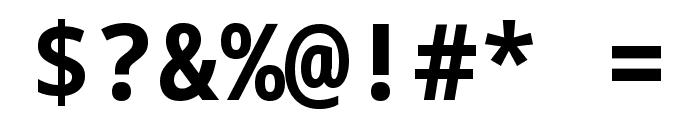 Noto Sans Mono Bold Font OTHER CHARS