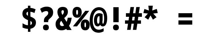 Noto Sans Mono Condensed Black Font OTHER CHARS