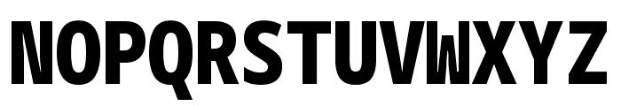 Noto Sans Mono Condensed Black Font UPPERCASE