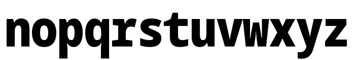 Noto Sans Mono Condensed Black Font LOWERCASE