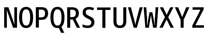 Noto Sans Mono Condensed Medium Font UPPERCASE
