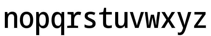 Noto Sans Mono Condensed Medium Font LOWERCASE