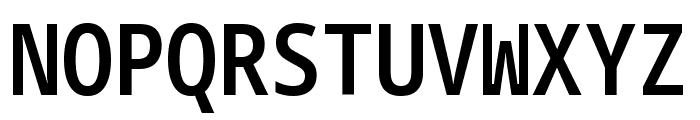 Noto Sans Mono Condensed SemiBold Font UPPERCASE
