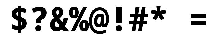 Noto Sans Mono ExtraBold Font OTHER CHARS