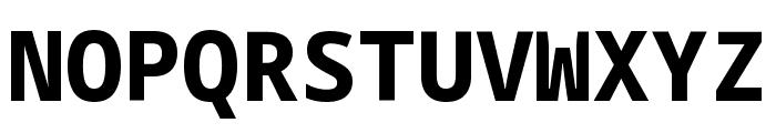 Noto Sans Mono ExtraBold Font UPPERCASE