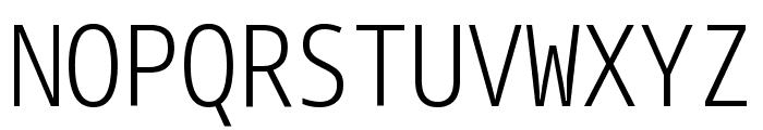 Noto Sans Mono ExtraCondensed Light Font UPPERCASE