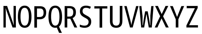 Noto Sans Mono ExtraCondensed Font UPPERCASE
