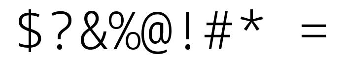 Noto Sans Mono Light Font OTHER CHARS