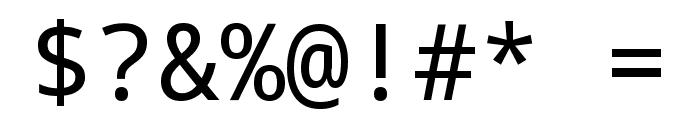 Noto Sans Mono Regular Font OTHER CHARS