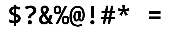 Noto Sans Mono SemiBold Font OTHER CHARS