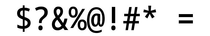 Noto Sans Mono SemiCondensed Medium Font OTHER CHARS