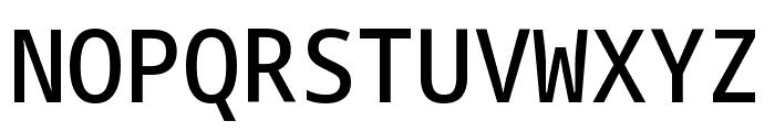 Noto Sans Mono SemiCondensed Medium Font UPPERCASE