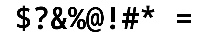 Noto Sans Mono SemiCondensed SemiBold Font OTHER CHARS