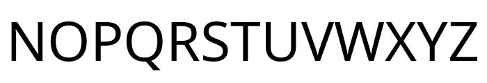 Noto Sans Regular Font UPPERCASE