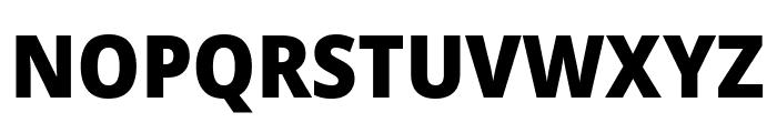 Noto Sans SemiCondensed Black Font UPPERCASE