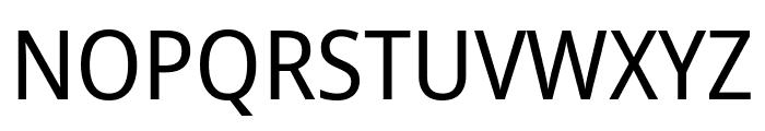 Noto Sans SemiCondensed Font UPPERCASE