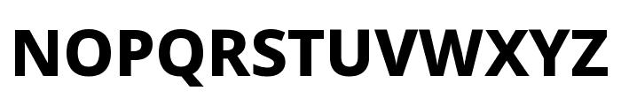 Noto Sans Symbols ExtraBold Font UPPERCASE