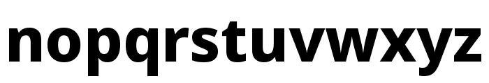 Noto Sans Symbols ExtraBold Font LOWERCASE