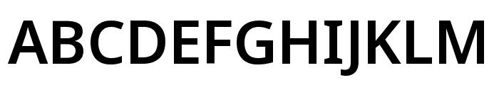 Noto Sans Symbols SemiBold Font UPPERCASE