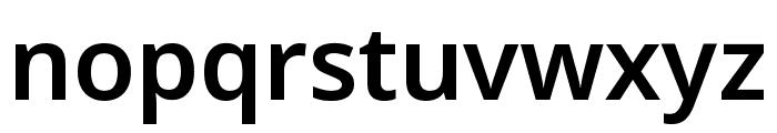 Noto Sans Symbols SemiBold Font LOWERCASE