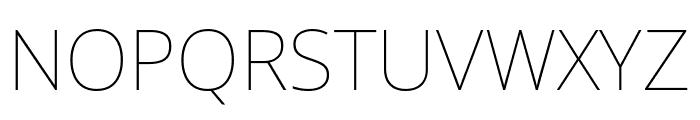Noto Sans Thin Font UPPERCASE