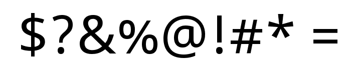 Noto Sans Font OTHER CHARS