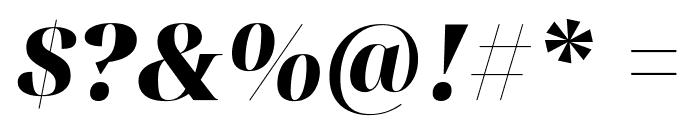 Noto Serif Display Black Italic Font OTHER CHARS