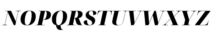 Noto Serif Display Black Italic Font UPPERCASE