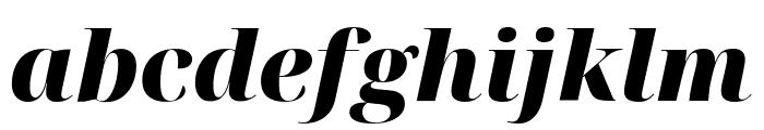 Noto Serif Display Black Italic Font LOWERCASE