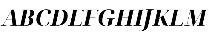 Noto Serif Display Bold Italic Font UPPERCASE