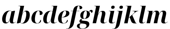 Noto Serif Display Bold Italic Font LOWERCASE