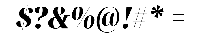 Noto Serif Display Condensed Black Italic Font OTHER CHARS